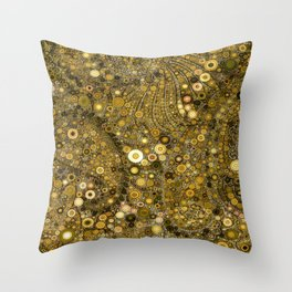 :: Good as Gold :: Throw Pillow