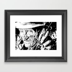 Freddy Krueger #2 Framed Art Print