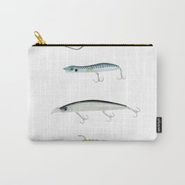 Realistic fishing lures Carry-All Pouch