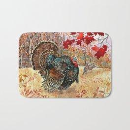 Woodland Turkey Bath Mat