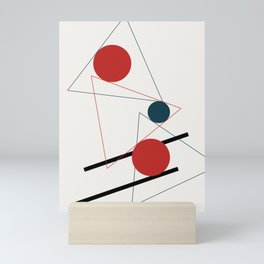 Abstract Geometry #geometrical #illustration #art Mini Art Print