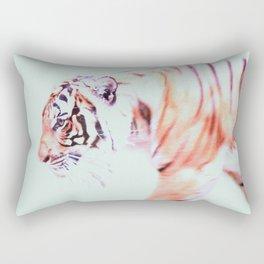 Pacing tiger Rectangular Pillow