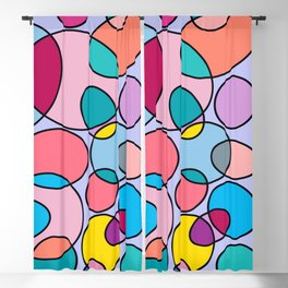 Colorful Something Blackout Curtain