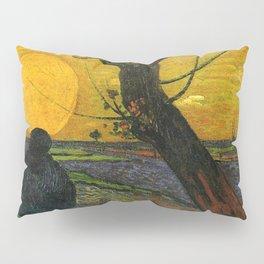 Sower With Setting Sun  - Van Gogh Pillow Sham
