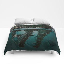 Mystere island Comforters