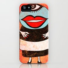 Miss One Eye iPhone (5, 5s) Slim Case