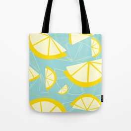 Lemon Wedges Tote Bag