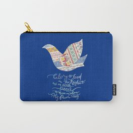 Glory to God -Luke 2:14 Carry-All Pouch