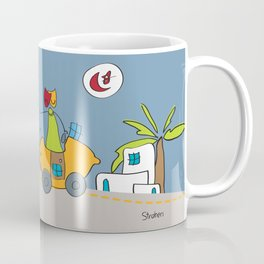 En route vers Tunis | Road to Tunis Coffee Mug