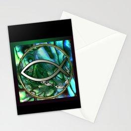 Paua Fishing Stationery Cards