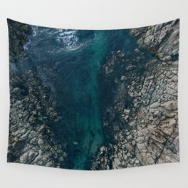 ocean blues II Wall Tapestry