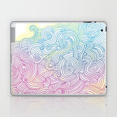 Swirling clouds in the heavens Laptop & iPad Skin