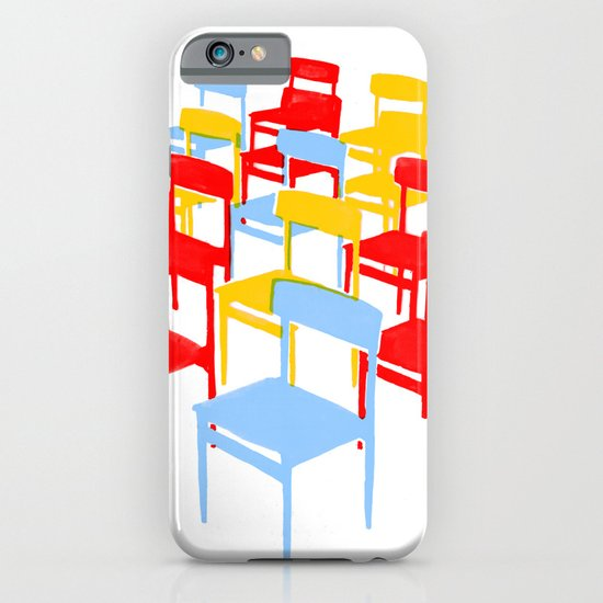 25 Chairs iPhone & iPod Case
