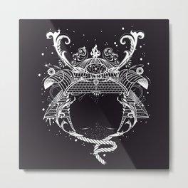 Samurai helmet - Kabuto - Metal Print