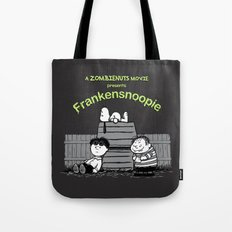 Frankensnoopie Tote Bag