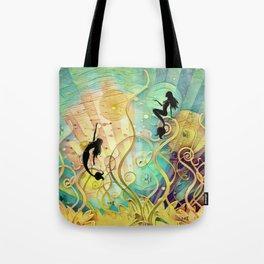 Sea Lore Tote Bag