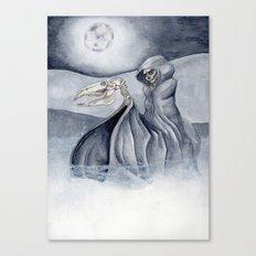The Man Comes Around Canvas Print