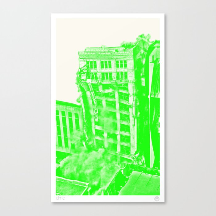 (de)Construction II Canvas Print
