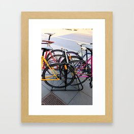 Parallel Parking Shuffle Framed Art Print