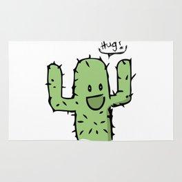Hug? cactus free hug Rug