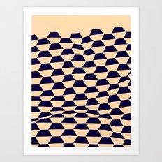 Foundry Cream —Matthew Korbel-Bowers Art Print