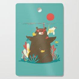 Snorkelling Cutting Board