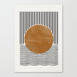 Abstract Modern Poster Canvas Print
