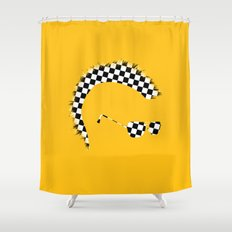 God's Lonely Man Shower Curtain