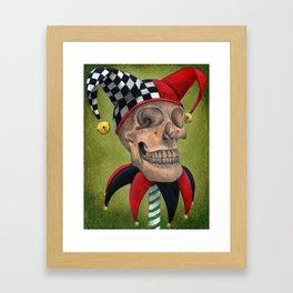 Yorick's Skull Framed Art Print