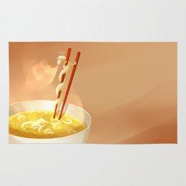 Noodle dragon Rug