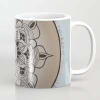 new year Mugs featuring New Year by Danielle Harshenin