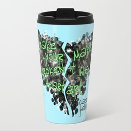 Take It From Carrie Fisher Travel Mug