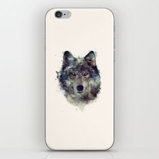 Wolf // Persevere  iPhone Skin
