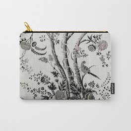 Peacock Tree Natural Carry-All Pouch