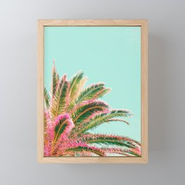 Fiesta palms Framed Mini Art Print