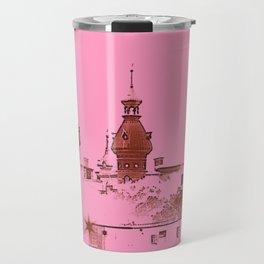University of Tampa -- Pink Travel Mug