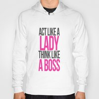 boss Hoodies featuring Boss by I Love Decor