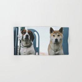 Shiba Inu and Beagle Hand & Bath Towel