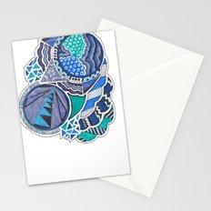 Jazz Blues Stationery Cards