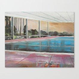 Die grosse Stille / The Grand Silence Canvas Print