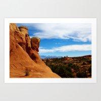 utah Art Prints featuring Utah! by Claudio Del Luongo
