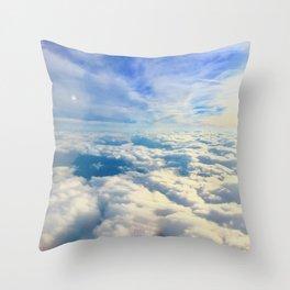 Clouded Throw Pillow