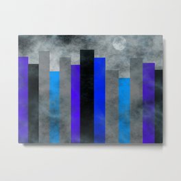 Fog In The City Metal Print