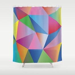 Mosaic Bright Shower Curtain