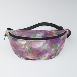 Beautiful ultra violet floral pattern Fanny Pack