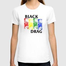 BLACK DRAG - BLACK FLAG PARODY T-shirt