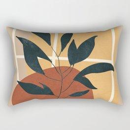 Abstract Shapes No.16 Rectangular Pillow