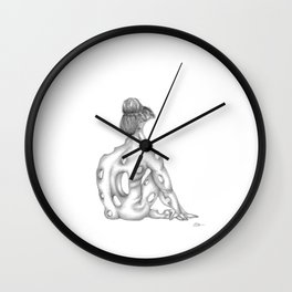Insecurity: If Only I Were An Entire Thing Wall Clock
