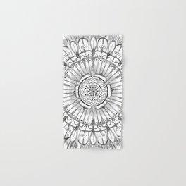 Flower Mandala Hand & Bath Towel