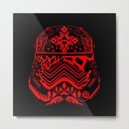 Bloody Stormtrooper Metal Print